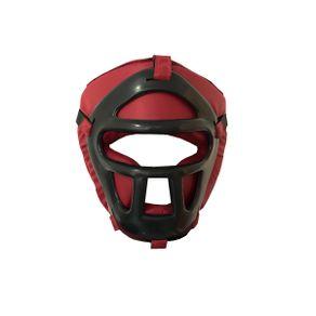 Capacete-Protetor-com-Grade-Vermelho