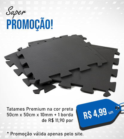 Banner Tatame 50x50x10 Preto M